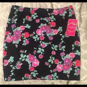 Candies floral skirt